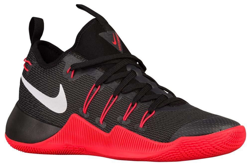 [ナイキ] Nike Hypershift - メンズ バスケット [並行輸入品] B071776B4R US11.5 Black/White/Bright Crimson/Anthracite