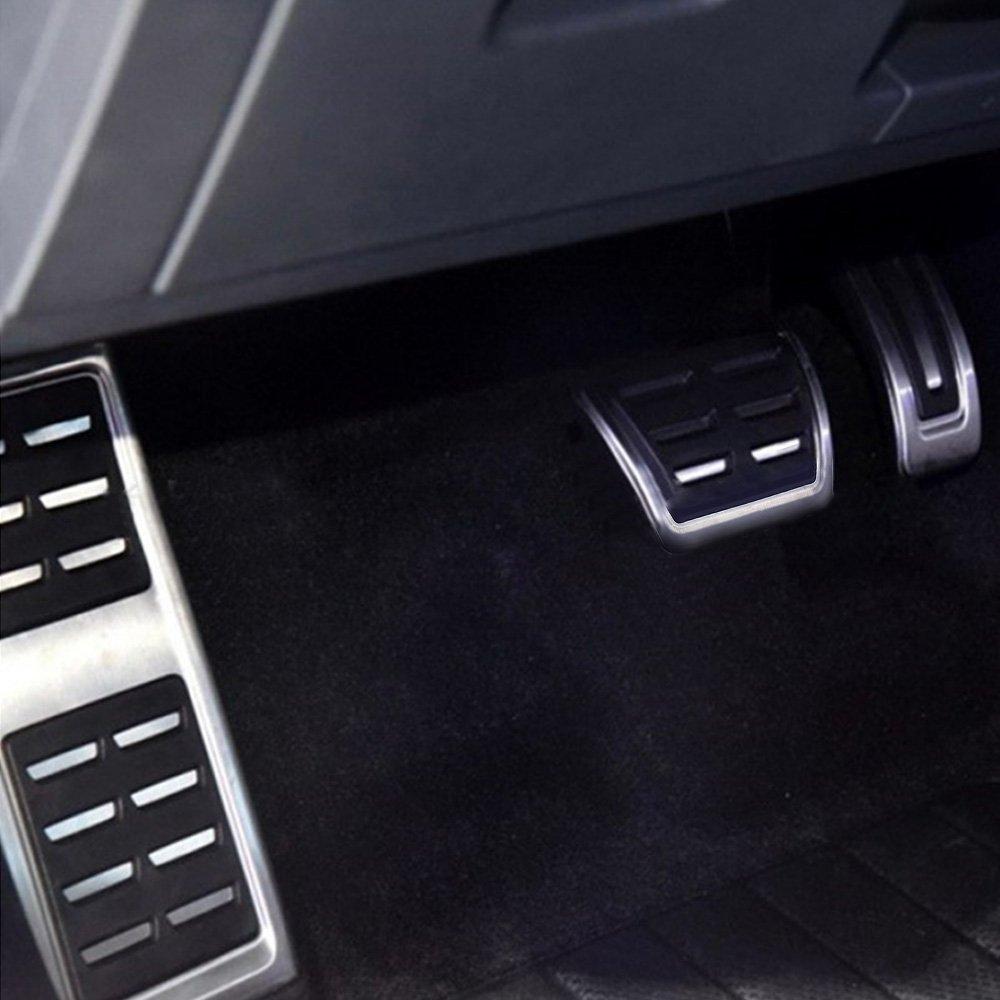 Docooler AT Pedali Benzina per Audi A4 B8 S4 RS4 Q3 A5 S5 RS5 8T Q5 8R A6 A7 A8 Guida a Sinistra