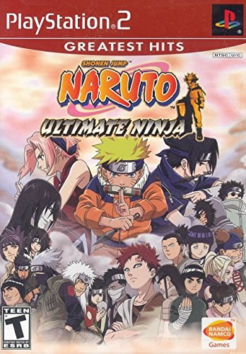 Naruto: Ultimate Ninja - PlayStation - Naruto Collection Game