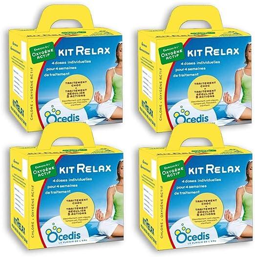 OCEDIS - Pack de 4 Meses de Tratamiento de oxígeno Activo Kit ...
