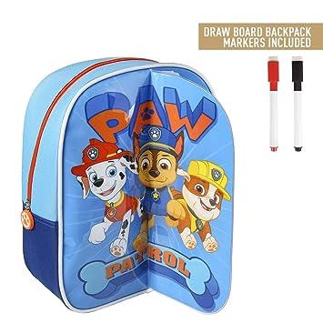 takestop® - Mochila con diseño de la Patrulla Canina, 31 cm, Ideal para la Playa, la Escuela o el Almuerzo: Amazon.es: Electrónica