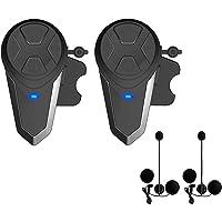 Lemnoi BT-S3 Intercomunicador Casco Moto, Intercomunicador Bluetooth