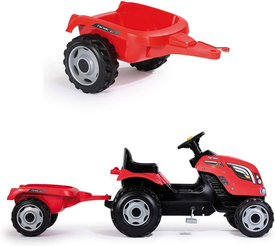 Smoby Trattore Trattore Farmer XL Rosso 3 anni 7600710108 Rosso