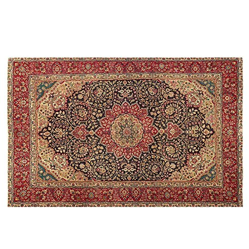 6.6' X 9.7' Vintage Rug, Highes Class Antique Persian Woven By the Hands of Master Weaver. Code:R0101261, Vintage Floor Rug, Oriental Area Rug, handmade Traditional Fancy Carpet