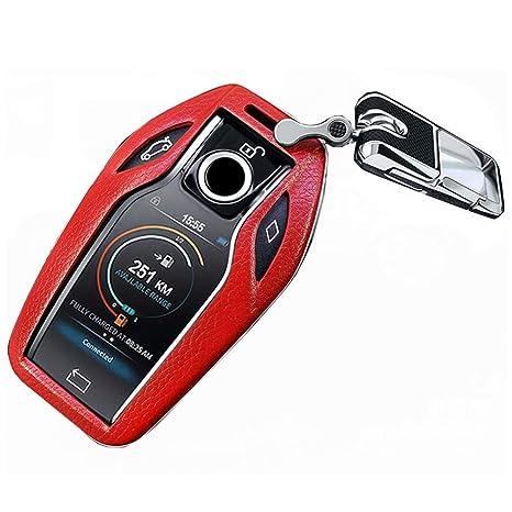Amazon.com: Topond - Carcasa para llave de coche de piel ...