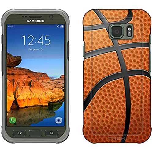 Samsung Galaxy S7 Active Case, Snap On Cover by Trek Basketball Close Up Slim Case Sales