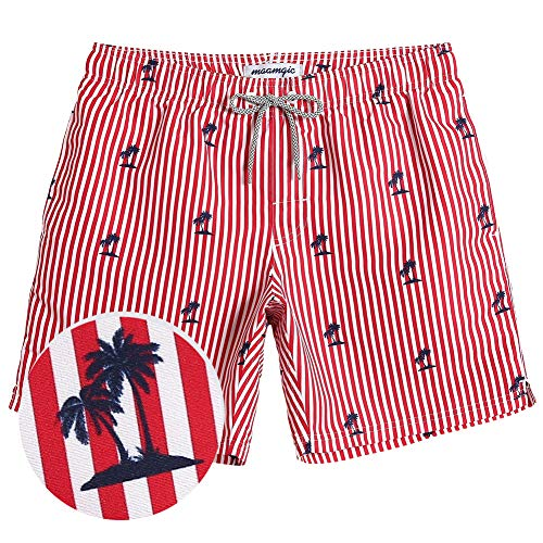 1efd4c5e0b 1 · MaaMgic Mens Boys Short Striped Swim Trunks Mens Bathing Suits Slim Fit Swim  Shorts Swimsuit for