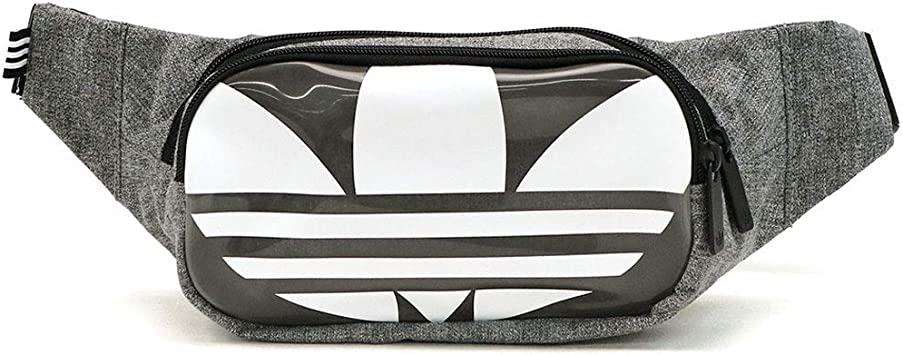 adidas Essential Waist Waistbag, Hombre, Black/White, NS: Amazon.es: Deportes y aire libre