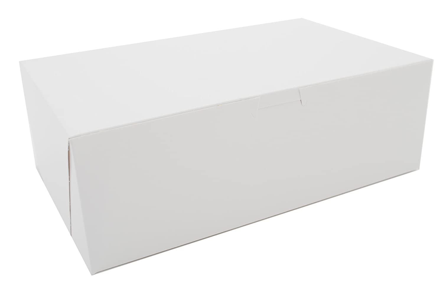 Southern Champion Tray 1018 Premium Clay Coated Kraft Paperboard White Donut Box, 10-3/4