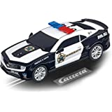 Carrera GO 64031 Chevrolet Camarao ZL1 Sherrif Slot Car Racing Vehicle