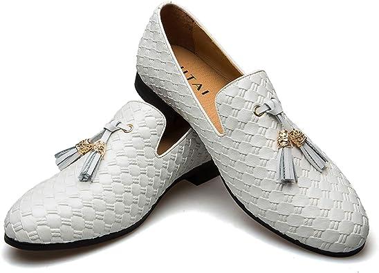 JITAI Hommes Chaussures Oxford Chaussures Casual Chaussures /À Lacets L/ég/ères pour Hommes Mode