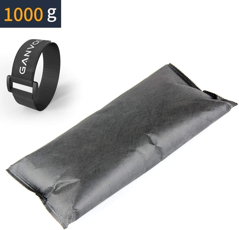 wiederverwendbar mit hoher Feuchtigkeitsaufnahme 1 Klett kabelbinder Ganvol 1000 g Auto Luftentfeuchter