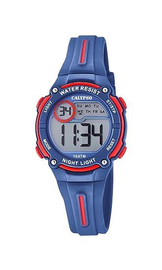 Calypso Reloj Digital para Unisex de Cuarzo con Correa en Plástico K6068/4
