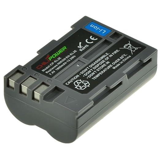 50 opinioni per ChiliPower Nikon EN-EL3E Batteria (1800mAh) per Nikon D90, D700, D300, D80, D70,