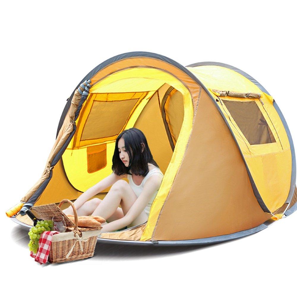 Outdoor Camping Zelt Outdoor 3-4  Herrenchen schnell eingerichtet Kinder-Anti-Moskito-Zelte blau