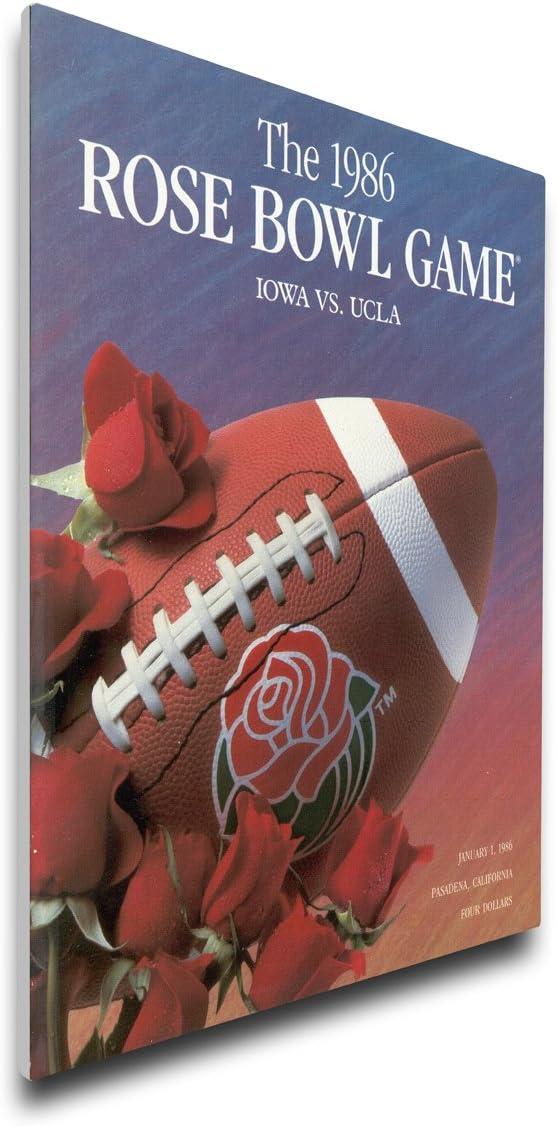 Regular Thats My Ticket NCAA UCLA Bruins 1986 Rose Bowl Canvas Program Cover
