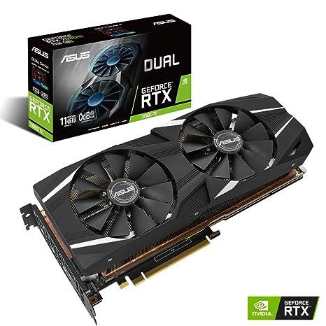 ASUS Dual GeForce RTX 2080 Ti - Tarjeta gráfica (11 GB ...
