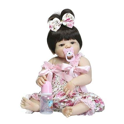 Reborn Muñecas de bebé de 19 Pulgadas/46cm, con chupete ...