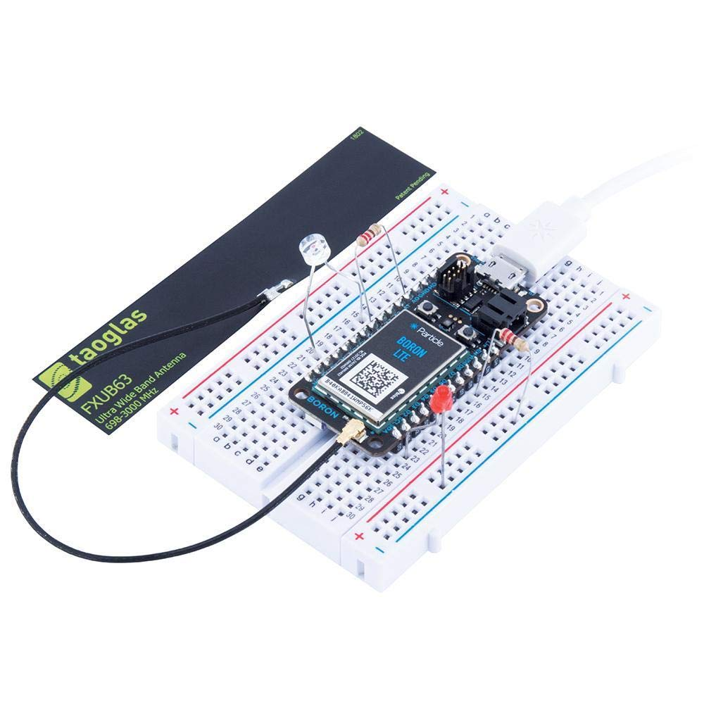 Particle | Boron IoT Development Kit | Stand Alone Endpoint or Connect Groups of Endpoints | Internet of Things | Cloud Access | Built-In Battery Charging Circuitry | Cellular + Mesh + Bluetooth