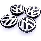 LFOTPP 4 Unidades de tapacubos magnéticos para suspensión para Volkswagen