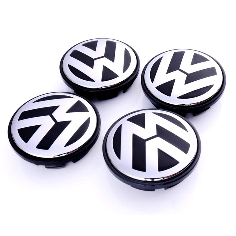 LFOTPP 4 Unidades de tapacubos magnéticos para suspensión para Volkswagen: Amazon.es: Coche y moto