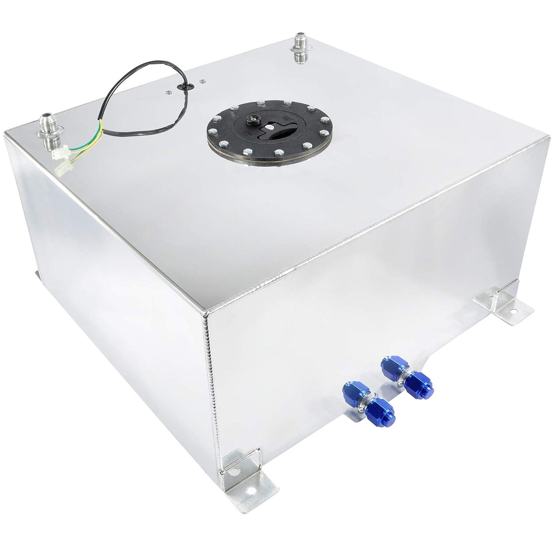 Serbatoio per carburante in alluminio da 56 litri con sensore di livello