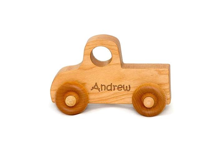 Amazoncom Wooden Toy Truck Handmade