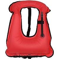 iRunzo Chaleco de snorkel - Inflable Compensador de flotabilidad Para niños adultos Buceo Nadando - Verde Chaleco de snorkel Inflable Compensador de flotabilidad Para niños adultos Buceo Nadando Rojo Niño