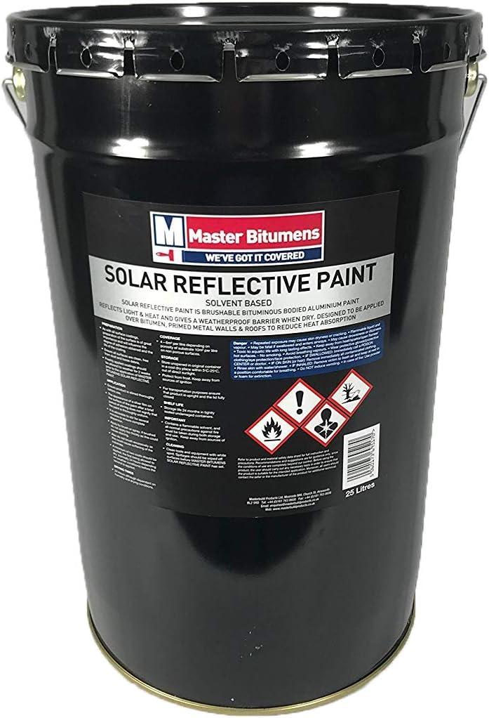 25 Litre Aluminium Paint Solar Reflective Roof Coating Paint