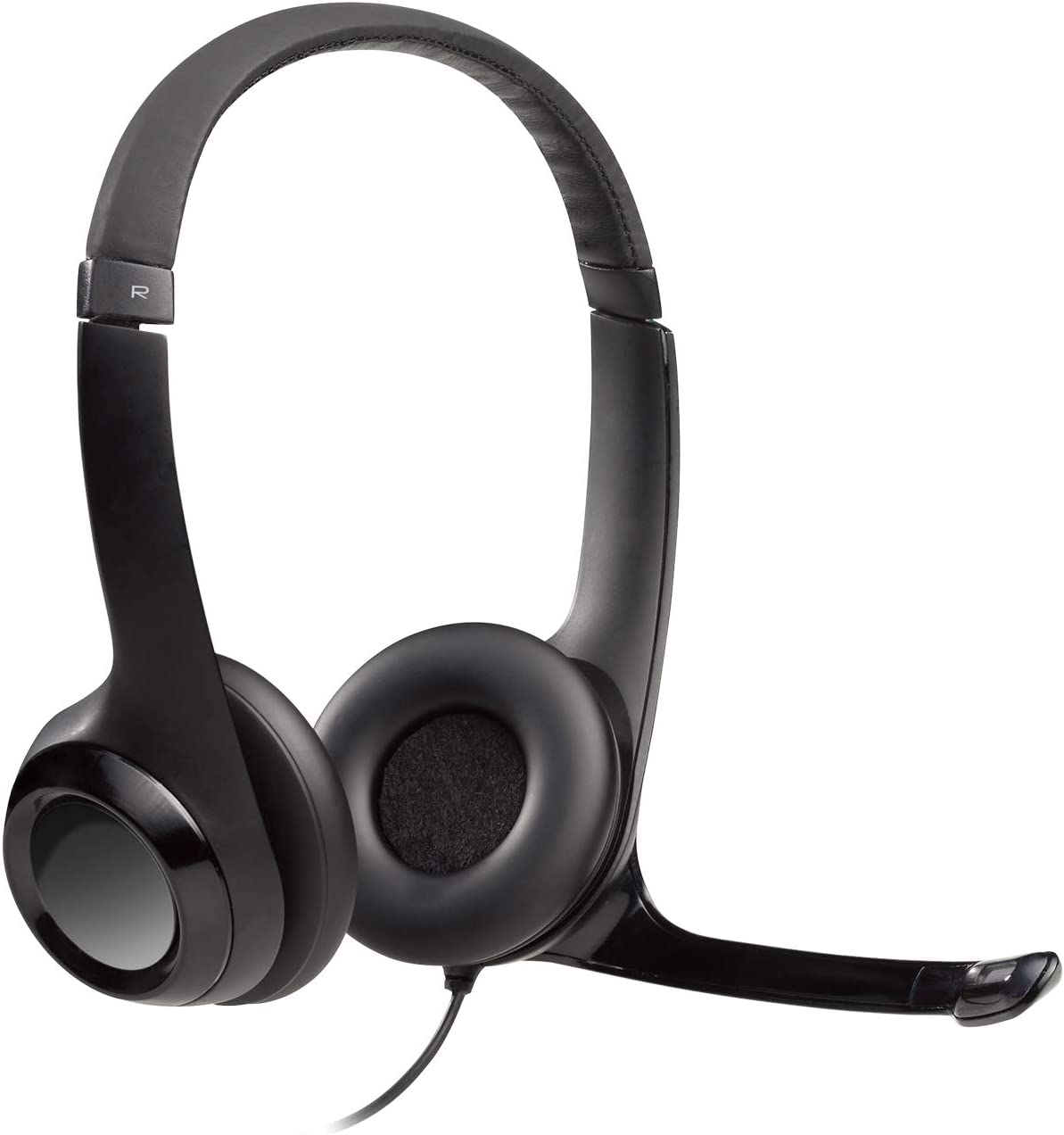 Amazon Com Logitech Usb Headset H390 With Noise Cancelling Mic Electronics