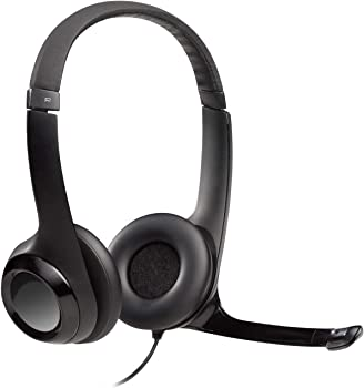 Logitech H390 Over-Ear USB Headphones