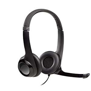 Logitech USB Headset H390 with Noise Cancelling Mic