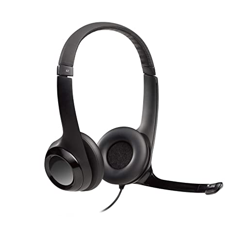 7203aeeab97 Amazon.com: Logitech USB Headset H390 with Noise Cancelling Mic: Electronics