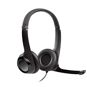 Logitech USB Headset H390 with Noise Cancelling Mic  Amazon.co.uk ... f92c828f6a