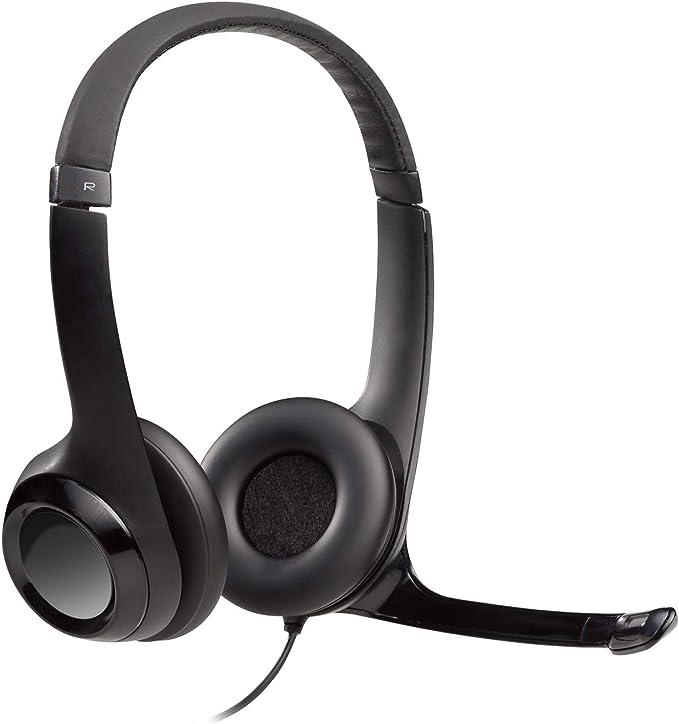 Amazon.com: Logitech USB Headset H390 with Noise Cancelling Mic: Electronics
