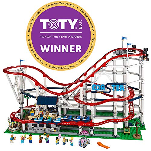 LEGO Creator Expert Roller Coaster 10261 Building Kit , New 2019 (4124 Piece) (Ferris Lego Wheel)