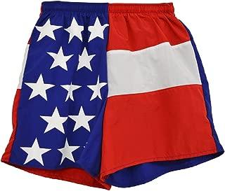 product image for Soark Womens Longcut American Flag Shorts