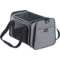 Vceoa Airline Approved Pet Carriers,Soft Sided Collapsible Pet Travel Carrier for Medium Puppy and Cats