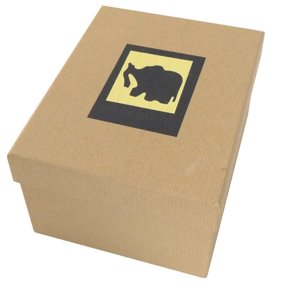 Dorr Green Earth Elephant Photo Box for 700 7 x 5-Inch Photos, Black 860083ELE