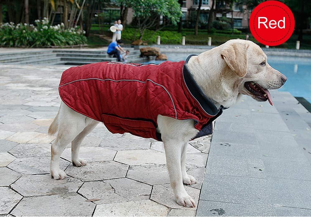 PENIVO 6 Farben Haustier Jacke Hundebekleidung Wasserabweisend Winter Warme Kleidung Weste Reversible Winterjacken M/äntel f/ür Kleine Mittelgro/ße Hund