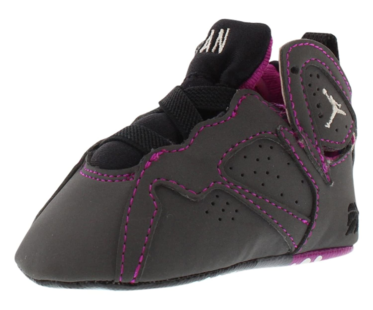 san francisco 5efb1 fad69 ... netherlands amazon girls air jordan 7 retro gift pack 30th anniversary  valentines day fuchsia grey shoes ...