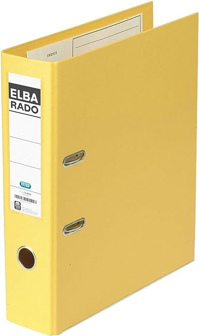 Elba Rado - Archivador (clásico, lomo: 80 mm, A4, PVC, con ...