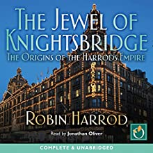 The Jewel of Knightsbridge Audiobook by Robin Harrod Narrated by Jonathan Oliver