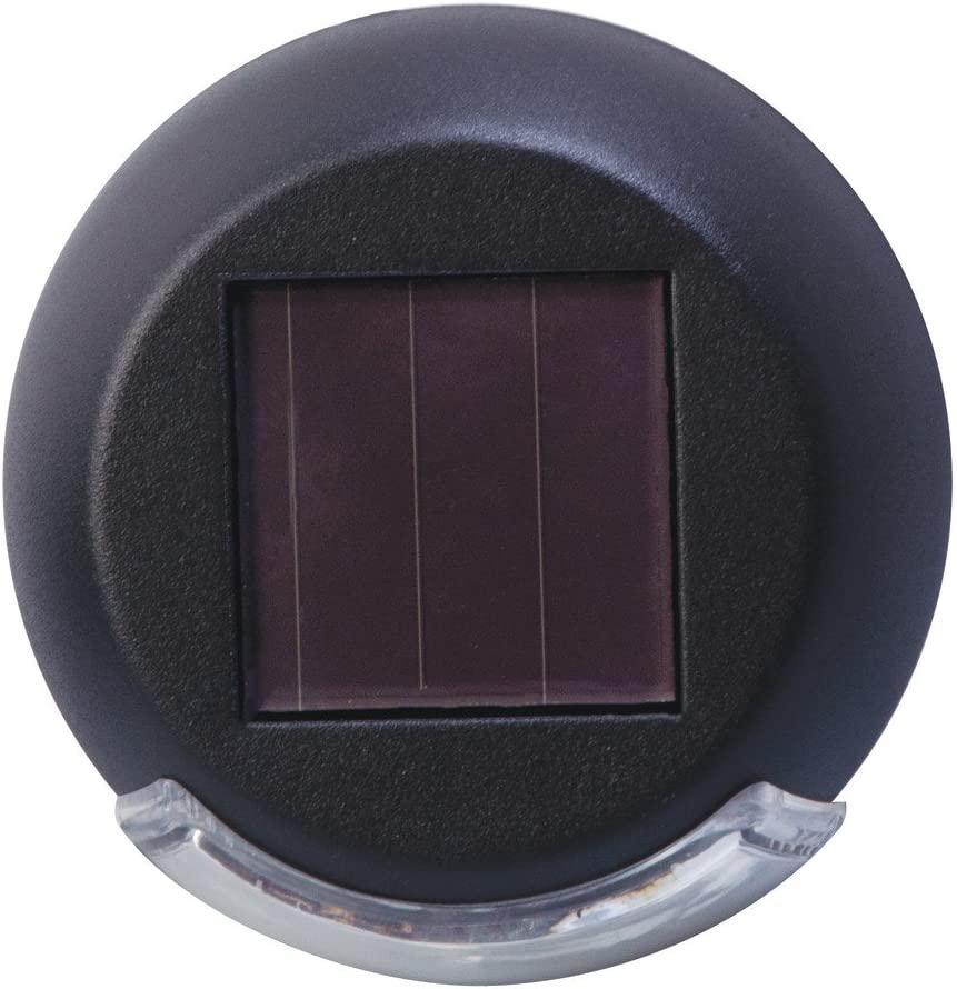 Moonrays 91431 Rodric-Styles Solar Powered Mini LED Deck Light, Black