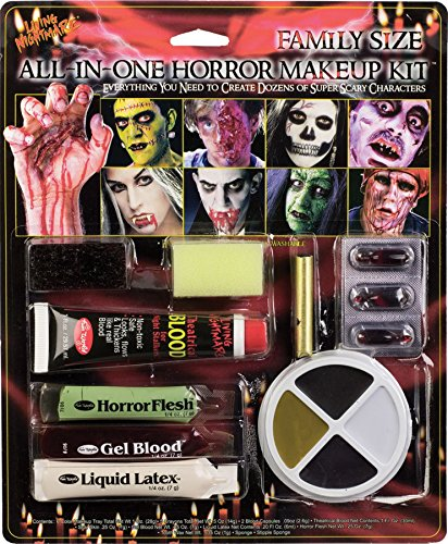 Fun World Family Size All In One Horror Kit Makeup-Standard -