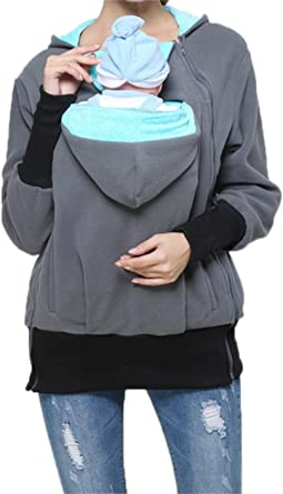 2 in 1 Newborn Kangaroo Sweater Clothing Baby Carrier Hoodies
