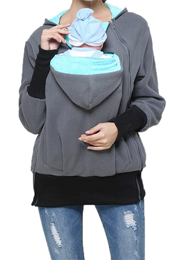 TUOKING 2 in1 Baby Carrier Women and Baby Warm Sweater Mommy ...