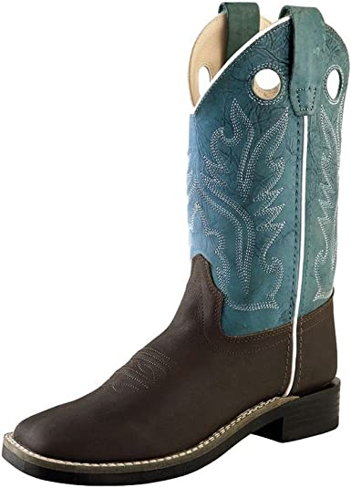 Jama Old West Cowboy Boot White Leather