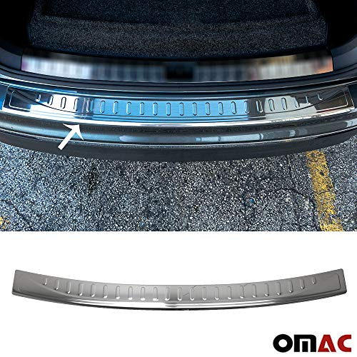 Chrome Rear Bumper Sill Cover Protector Guard Trim S.Steel fit for VW TIGUAN 2016-