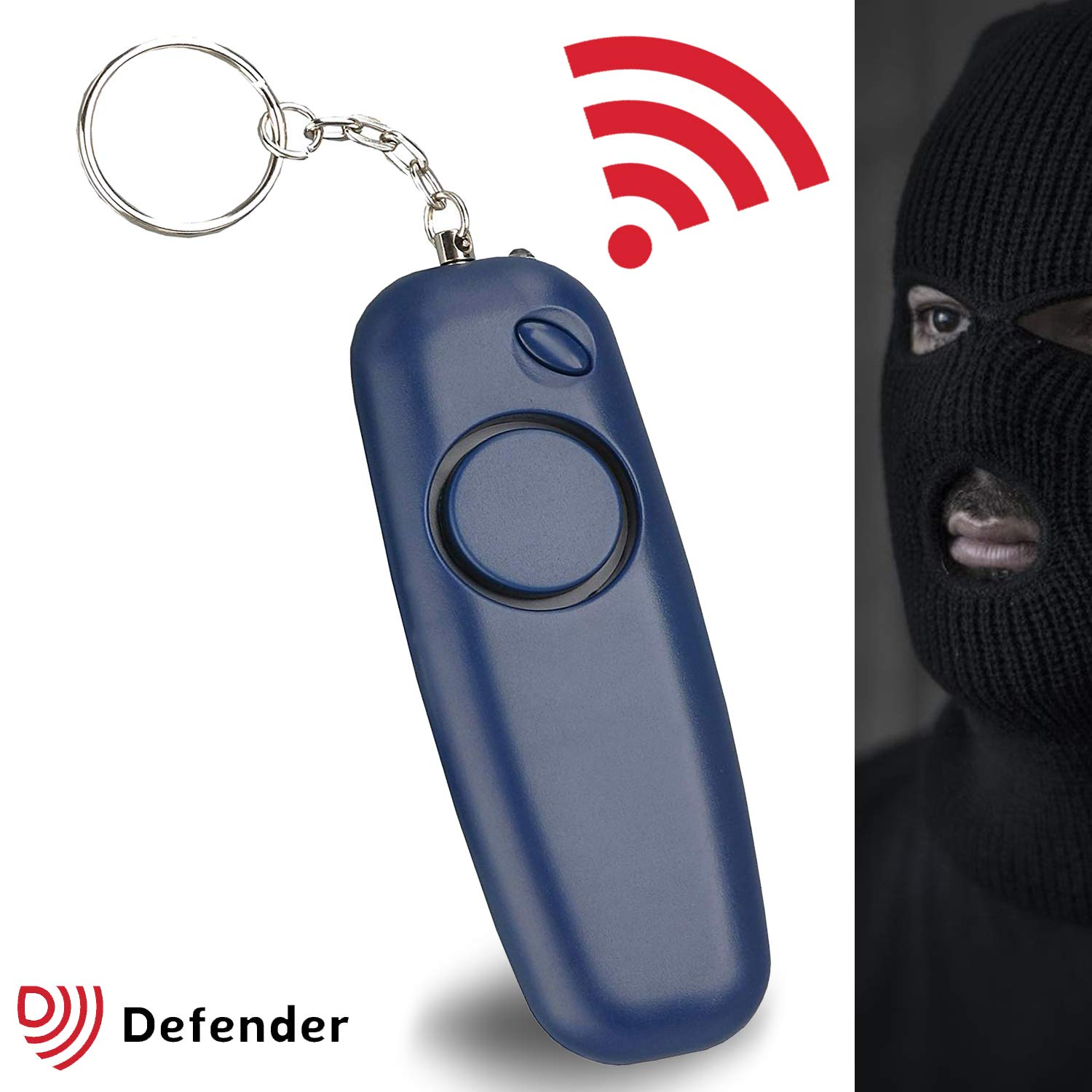 68f9f8c596 Defender Personal Attack Alarm Keyring - Police Approved Panic Alarm for  Personal Safety - Navy Blue: Amazon.co.uk: Garden & Outdoors